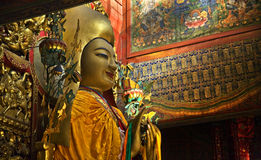 De Boeddhistische Tempel Peking van de Gong van Ba Yonghe van KE van Zhong Stock Afbeeldingen