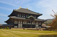 De Boeddhistische Tempel van Nara Stock Afbeelding