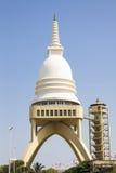 De Boeddhistische Tempel van Sambodhichaithya in Colombo, Sri Lanka Stock Afbeelding