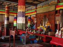 De boeddhistische Zaal van het Gebed royalty-vrije stock fotografie