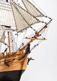 De boeg van de zeilboot Stock Fotografie