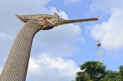 De boeg van Thaise zwaanaak Stock Afbeelding