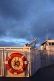 De Boei van de Ring van de veerboot Stock Foto