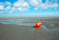 De boei van het strand Stock Foto