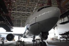 ¡ De Boeing 747 Ð - contrôle photographie stock libre de droits