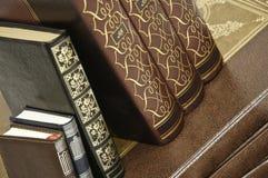 De Boeken van de antiquair royalty-vrije stock afbeeldingen