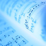 De boeken van de muziek royalty-vrije stock foto