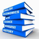 De boeken van de school Royalty-vrije Stock Foto