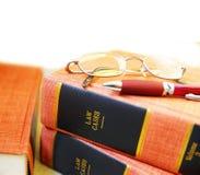 De boeken van de wet Royalty-vrije Stock Foto