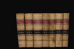 De Boeken van de wet Stock Afbeeldingen