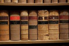 De Boeken van de wet Stock Foto