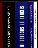 De boeken van de zelf-verbetering Stock Afbeelding