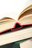 De boeken van Hardcover Stock Fotografie