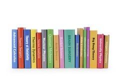 De boeken van het genie Stock Fotografie