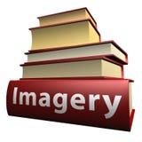 De boeken van het onderwijs - beeldspraak stock illustratie