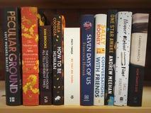 De boeken boeken zelf stock foto's