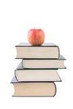 De boeken zijn het voedingsmiddel van het mensdom Royalty-vrije Stock Foto's