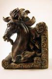 De boekensteun van het paardhoofd Royalty-vrije Stock Afbeeldingen