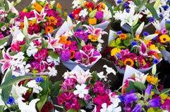 De boeketten van de bloem Royalty-vrije Stock Afbeelding