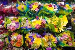 De boeketten van de bloem Stock Afbeelding