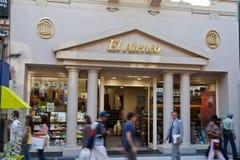 De Boekhandel Buenos aires van Gr Ateneo Stock Fotografie
