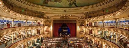 De Boekhandel van Gr Ateneo stock afbeelding