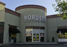 De Boekhandel van grenzen Royalty-vrije Stock Foto's