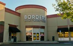 De Boekhandel van grenzen Royalty-vrije Stock Foto