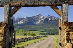 De boerderij van Colorado Royalty-vrije Stock Afbeeldingen