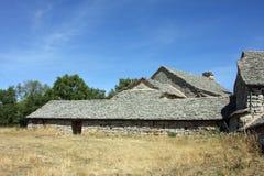 De boerderij van de steen Stock Foto