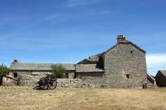 De boerderij van de steen Royalty-vrije Stock Fotografie