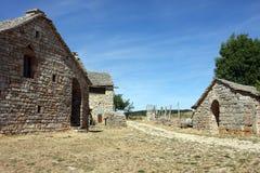 De boerderij van de steen Royalty-vrije Stock Afbeeldingen