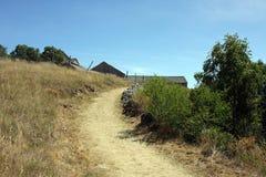De boerderij van de steen Stock Foto's
