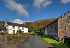 De Boerderij van het Lake District Royalty-vrije Stock Afbeelding