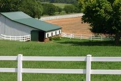 De Boerderij van Oklahoma Stock Afbeeldingen