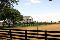 De Boerderij van Southfork dichtbij Dallas Stock Foto