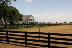 De Boerderij van Southfork dichtbij Dallas Stock Afbeeldingen