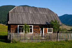 De boerderij van Transylvanian Stock Foto's
