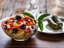De Boeuf salad Royalty Free Stock Image