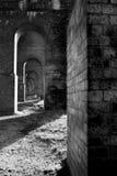 De bogen van de Spoorweg van de baksteen royalty-vrije stock afbeeldingen