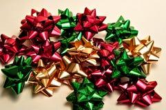 De bogen van Kerstmis Royalty-vrije Stock Afbeeldingen