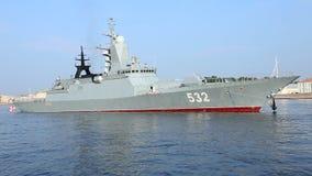 ` De Boiky del ` de Corbeta de la marina de guerra rusa metrajes