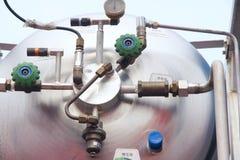 De boiler van de druk Stock Afbeeldingen