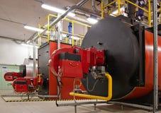 De boilers van het gas stock fotografie