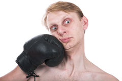 De bokser Stock Foto's