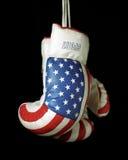De Bokshandschoenen van de V.S. Stock Foto's