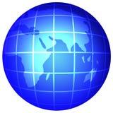 De bol van de aarde Stock Afbeeldingen