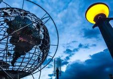 De bol van de de Stadswereld van New York Stock Afbeeldingen