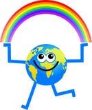 De bol van de regenboog royalty-vrije illustratie