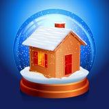 De bol van de sneeuw. Stock Fotografie